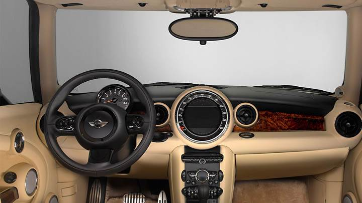 Interior of Mini Inspired By Goodwood