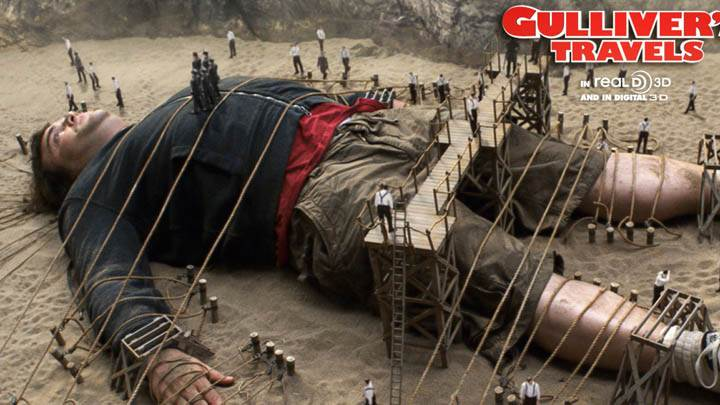 Jack Black in Gullivers Travels