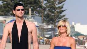 Jim Carrey & Jenny Mccarthy Enjoying at Beach