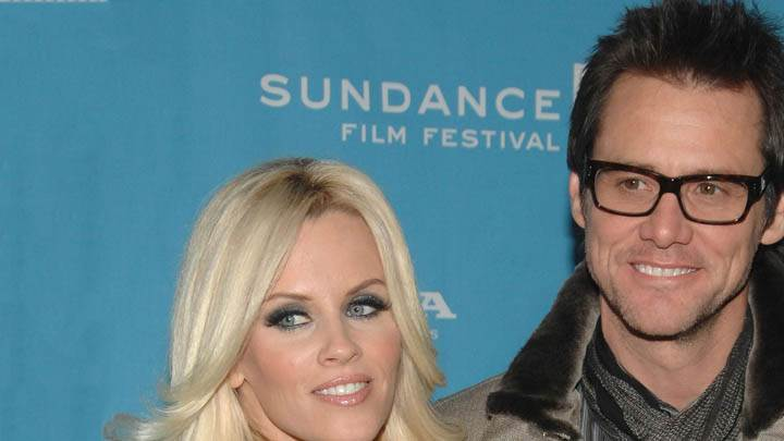 Jim Carrey & Jenny Mccarthy at Film Festival