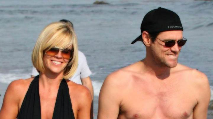 Jim Carrey & Jenny Mccarthy in Bathing Suit