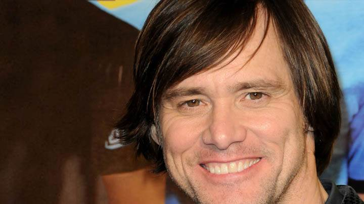 Jim Carrey – Smiling Face Closeup