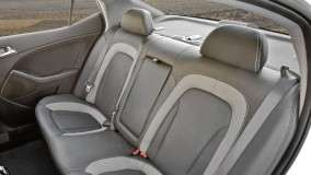 Kia Optima Hybrid Rear Seats