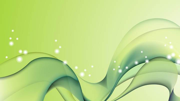 Light Green Color Abstract Lines