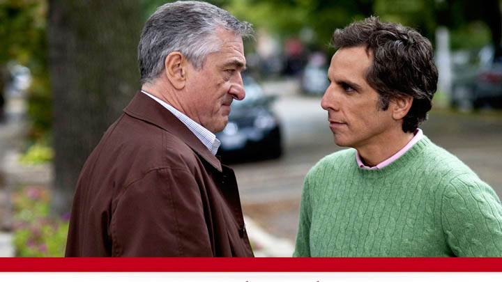 Little Fockers – Talking Outside House