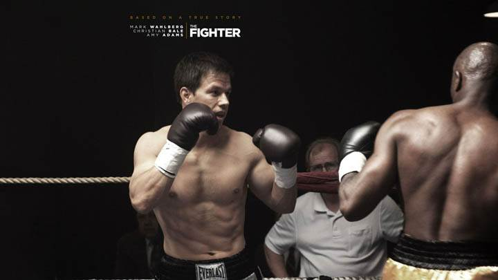 Mark Wahlberg Fighing in The Ring in The Fighter