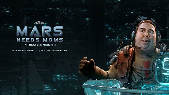 Mars Needs Moms – In Front of a Computer