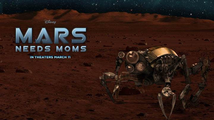 Mars Needs Moms – Robot on Ground