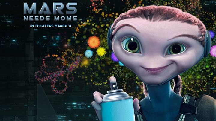 Mars Needs Moms – Spray Bottle