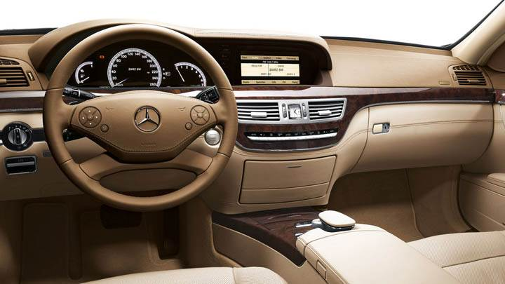 Mercedes Benz S350 Interior
