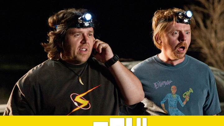 Nick Frost and Simon Pegg in Paul