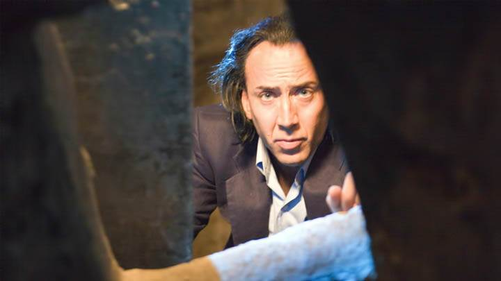 Nicolas Cage Checking Something