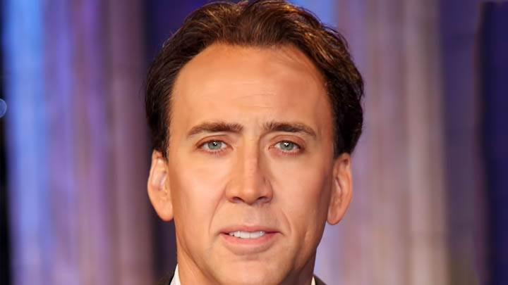 Nicolas Cage Smiling Face Closeup