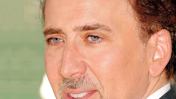 Nicolas Cage Ultra Face Closeup