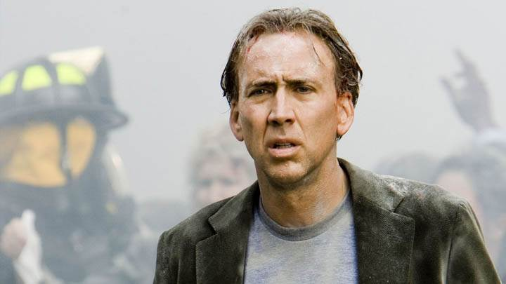 Nicolas Cage Wounded Head