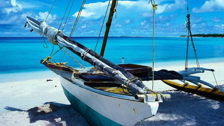Outrigger Canoe, Marshall Islands