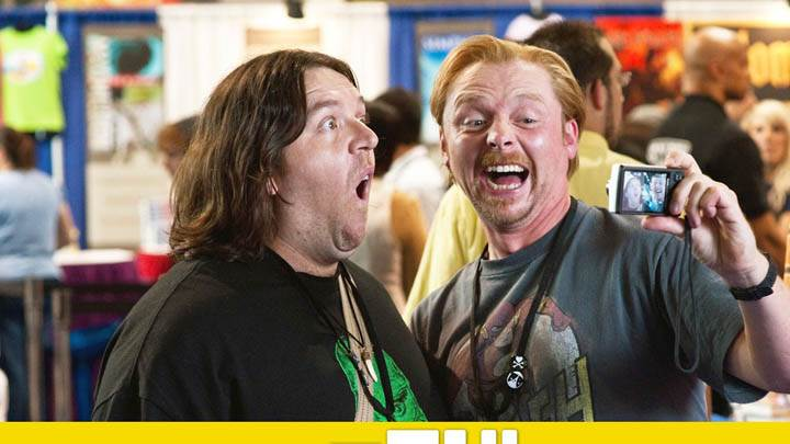 Paul – Nick Frost and Simon Pegg
