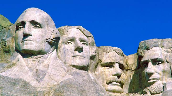 Presidential Portraits, Mount Rushmore National Monument