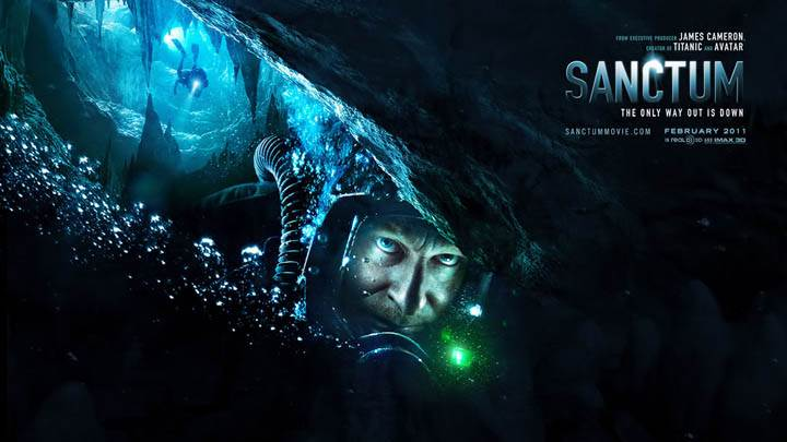 Sanctum Movie Cover poster
