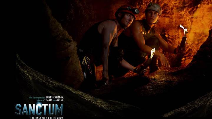 Sanctum – in Cave With Lights