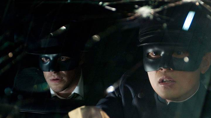 Seth Rogen and Jay Chou Driving Car