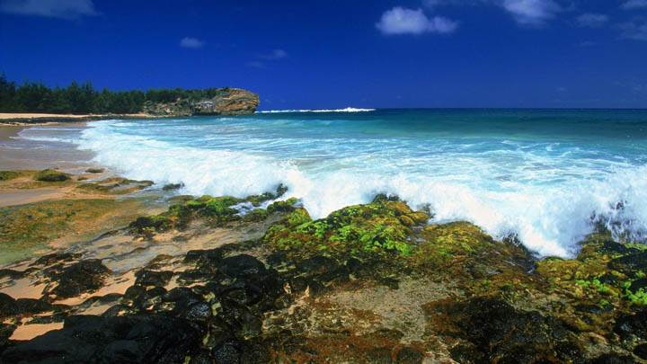 Shipwrecks Beach, Kauai, Hawaii