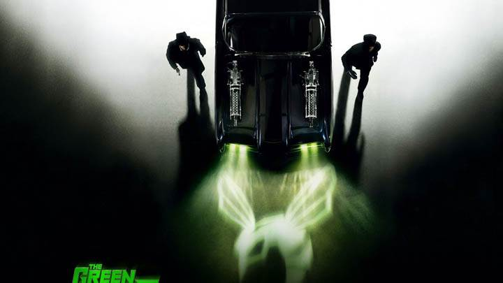 The Green Hornet Movie Cover Poster