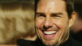 Tom Cruise – Laughing Face Closeup