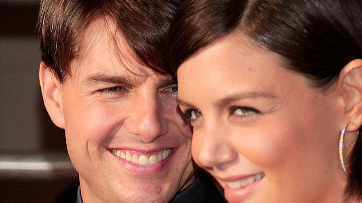 Tom Cruise  With Katie Holmes – Face Closeups