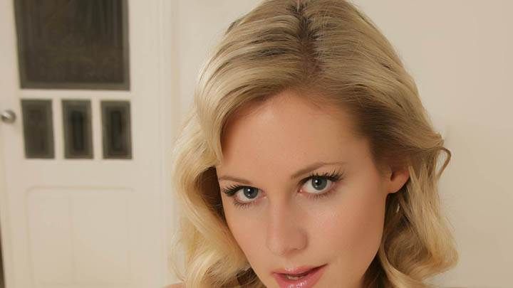 Abi Titmuss Looking At Camera Face Closeup