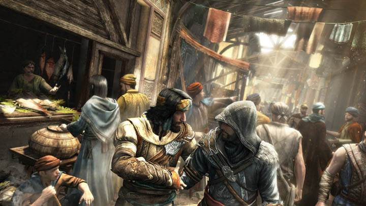 Assassins Creed Revelations – Meeting Yusuf In Market