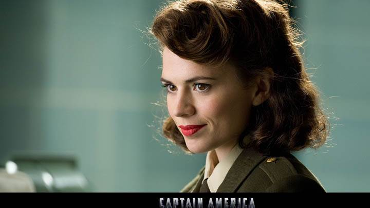 Captain America – Red Lips And Smiling