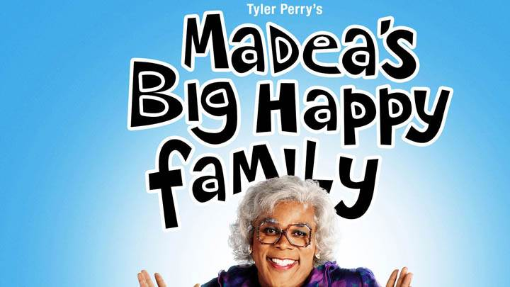 Cover Poster of Madea Big Happy Family