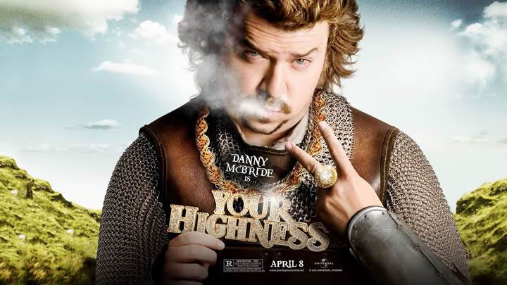 Danny McBride Smoking in Your Highness