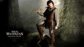 Danny McBride With Sword In Your Highness