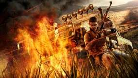 Far Cry 2 – Burning Jeep