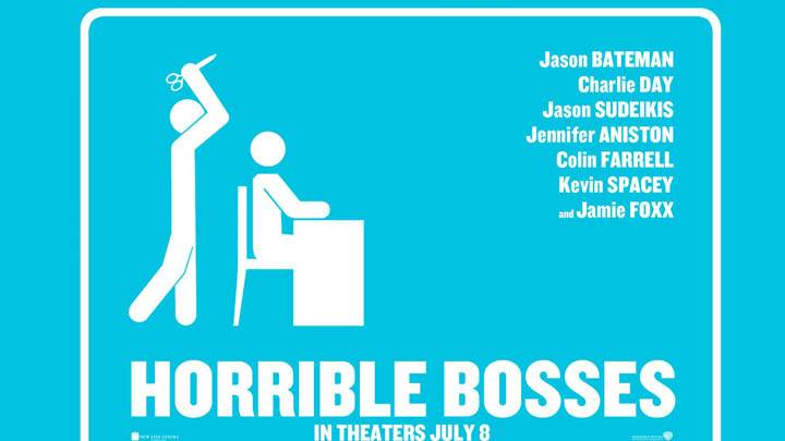 Horrible Bosses – Killing Boss Blue Poster