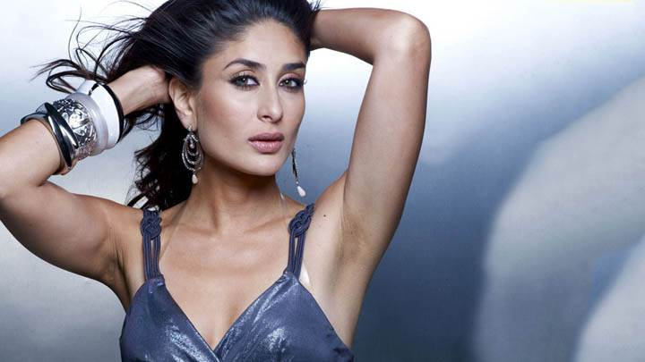 Kareena Kappor – Wet Pink Lips Modeling Pose