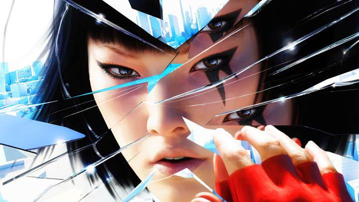 Mirrors Edge – Celeste Standing in Red Top