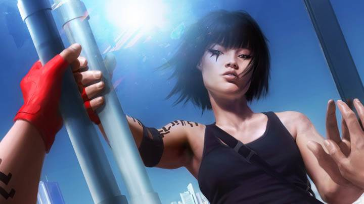 Mirrors Edge – Faith Looking into a Building Mirror