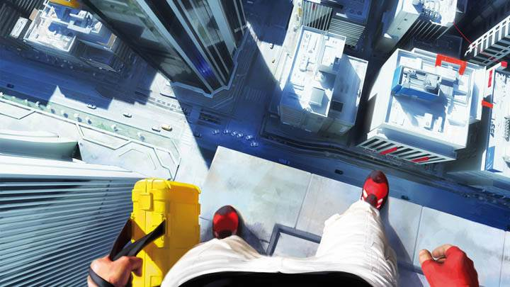 Mirrors Edge – Standing on a Building Edge