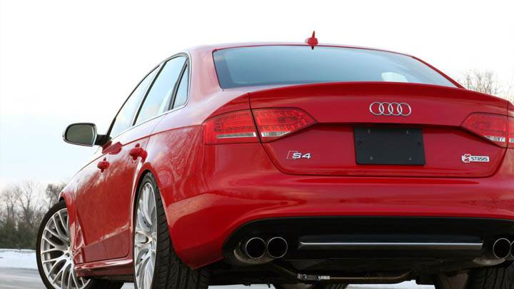 Red STaSIS Signature Audi S4 Back Pose