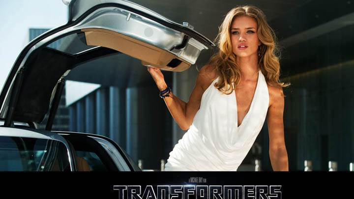 Rosie Huntington-Whiteley in Transformers Dark of the Moon