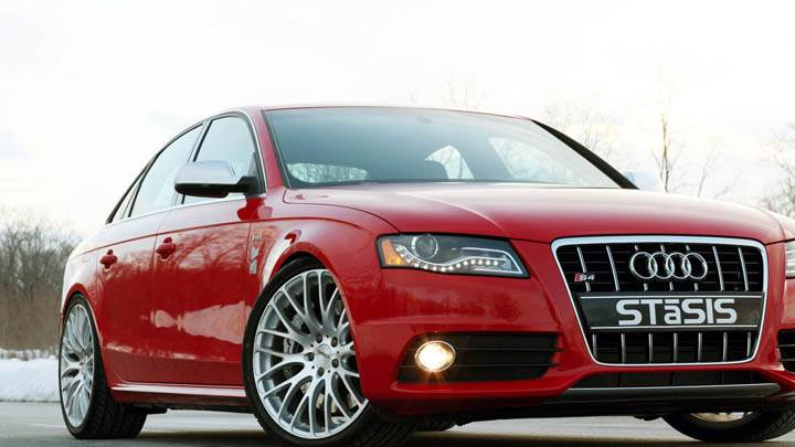 STaSIS Signature Audi S4 Red Color Front Pose
