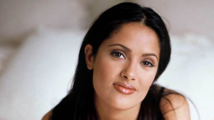 Salma Hayek – Smiling Cute Face Closeup