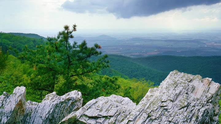 Storm Clouds Over the Shenandoah Valley
