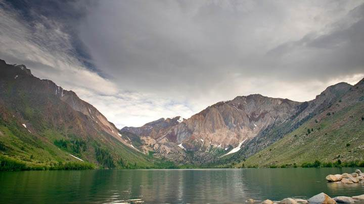 Storm, Convict Lake, Eastern Sierra, California