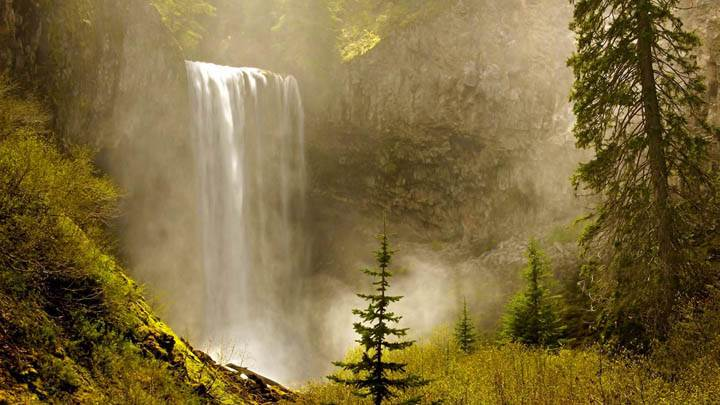 Tamanawas Falls, Mount Hood National Forest, Oregon