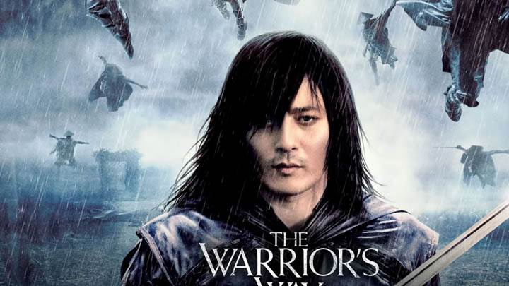 The Warriors Way – Face Closeup with Sword