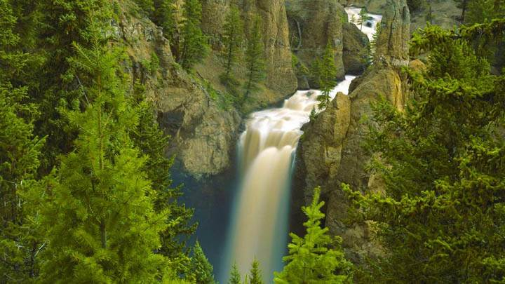 Tower Fall, Yellowstone National Park, Wyoming